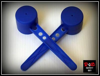 bahan sederhana untuk membuat visir senapan airsoft pipa PVC