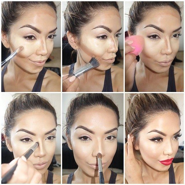 Amazing Face Makeup Tutorial Art Step