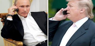 الرئيس الأمريكى ونظيره الروسى