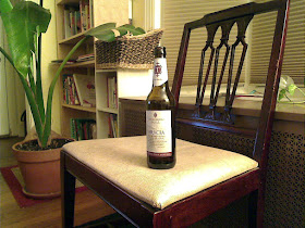A bottle of Thornbridge Bracia Stout.