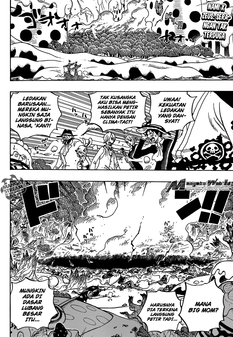 One Piece – Chapter 876 : Pudding Kebetulan Muncul