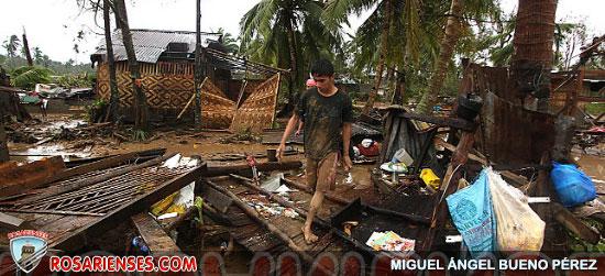 El tifón Bopha deja una estela de muerte y destrucción a su paso por Filipinas | Rosarienses, Villa del Rosario