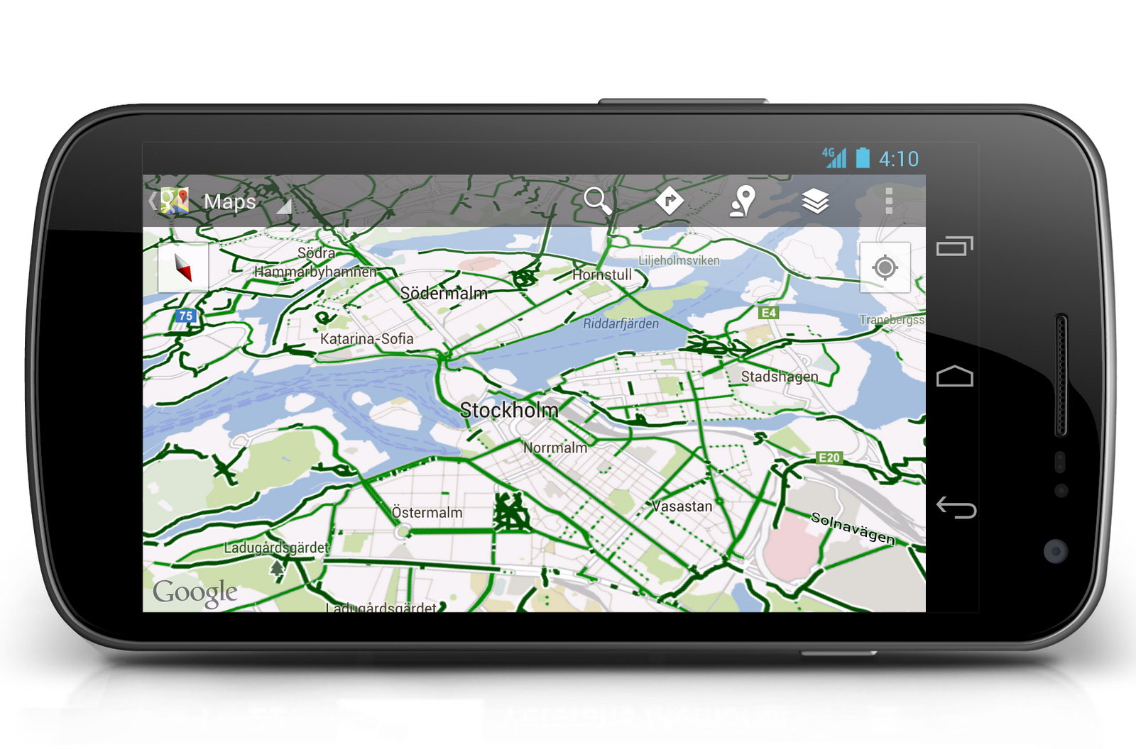 Official Google Blog Half A Gigameter Of Biking Navigation In - Will my us android use google maps in copenhagen