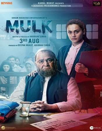 Mulk 2018 Hindi 720p Pre-DVDRip x264