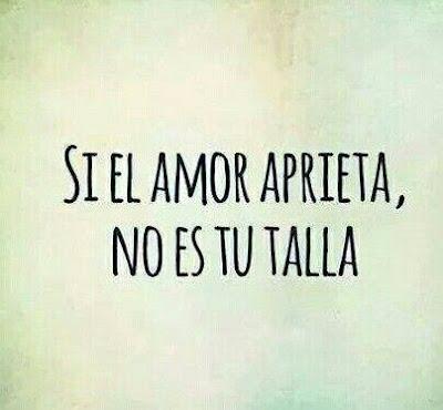 """""""Si el amor aprieta"""" - Imagen"""
