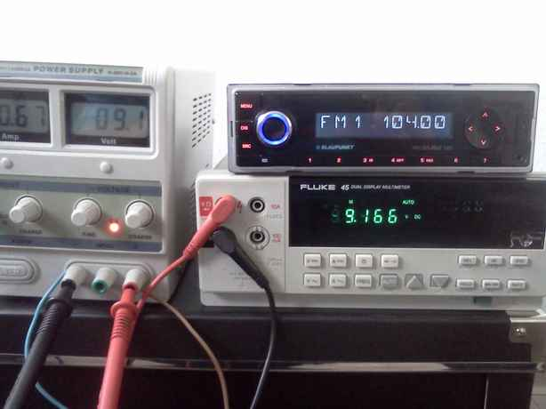 electronics engineering notes: Blaupunkt Melbourne 120 vs voltage