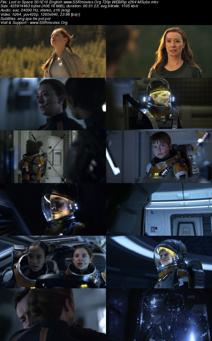 Lost in Space S01E10 English 720p WEBRip x264 400MB MSubs ...