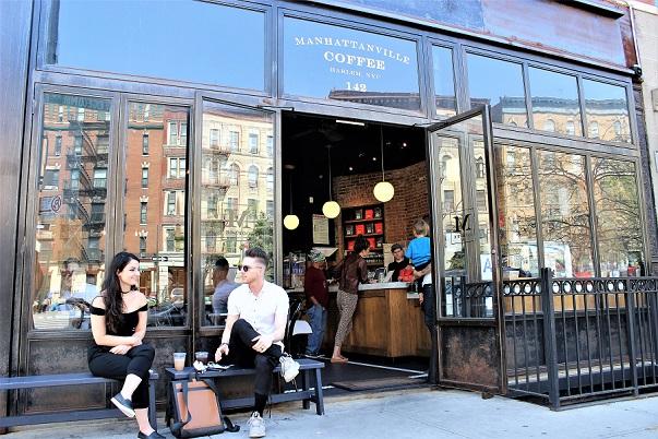 Manhattanville Coffee – mysigt café i Harlem
