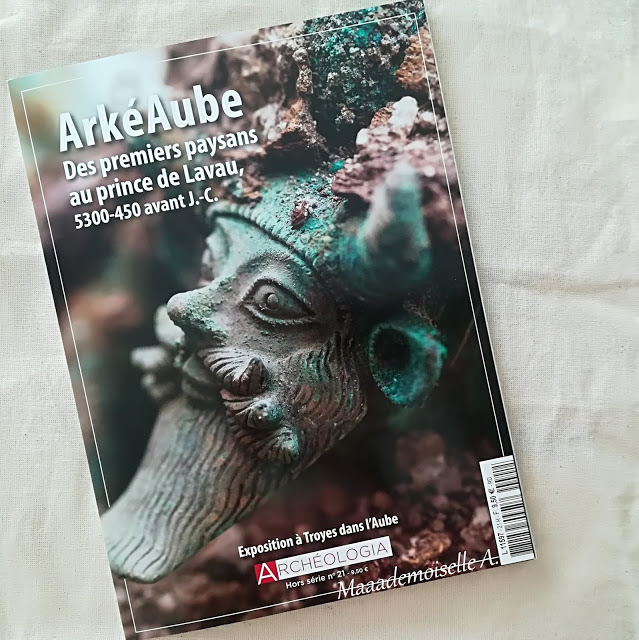 Archéologia, avec le hors série ArkéAube