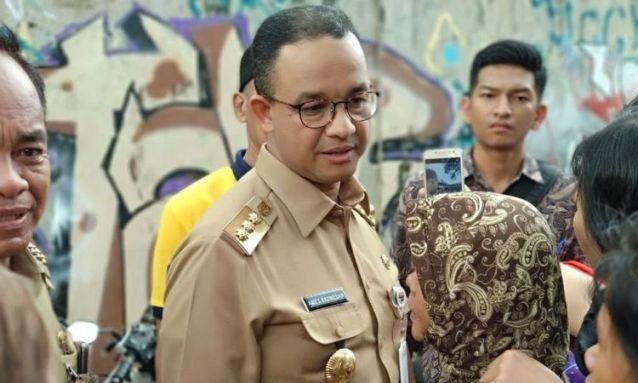 Anies Baswedan Dilaporkan ke Polisi Terkait Penutupan Jalan Jatibaru