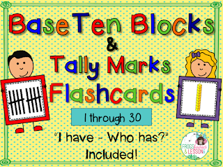 Base Ten Blocks Flashcards