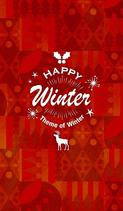 -Happy Winter- theme of winter