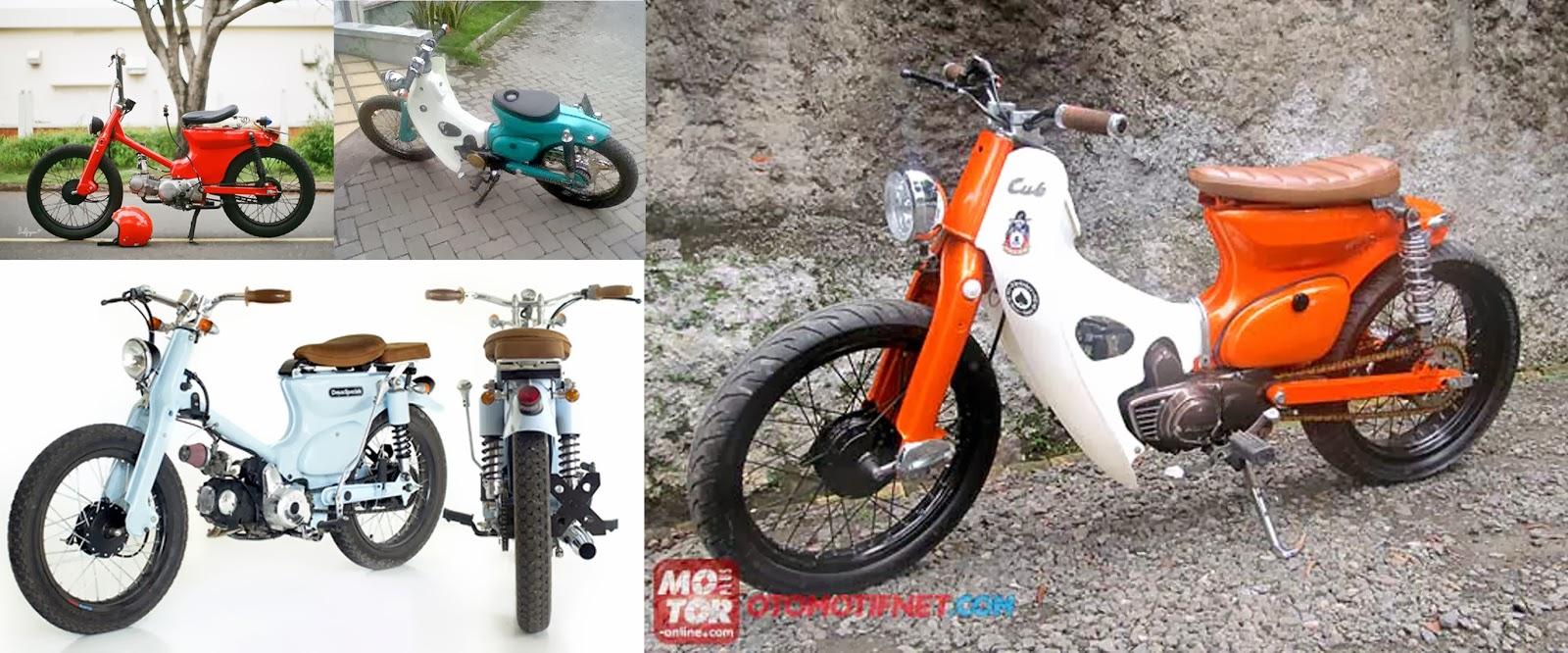 Modifikasi Motor Astrea Grand Street Cub Motorwallpapers Org