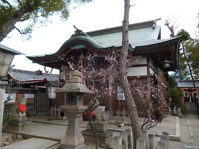 菅原天満宮拝殿
