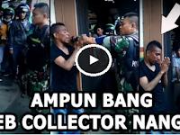 Debt Collector ini Nangis Dihajar Polisi Militer, Makannya Jangan Suka Rampas Sembarangan