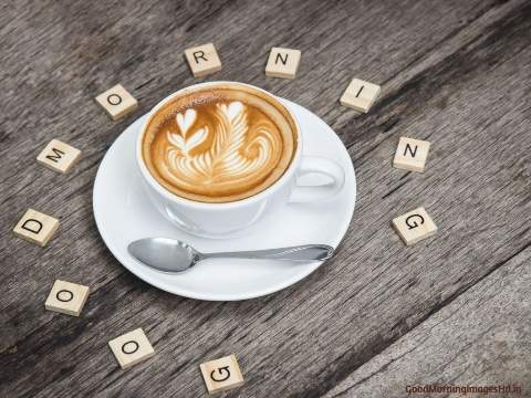 Good morning coffee images with sweet love