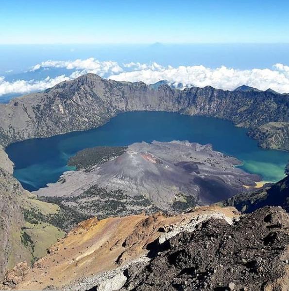Exploring Mount Rinjani Tourism Objects on Lombok Island