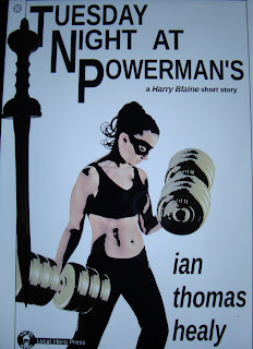 Portada del libro Tueday Night at Powerman`s, de Ian Thomas Healy
