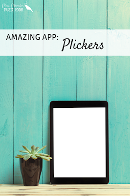 Plickers: Thoughts about using the app to assess in the music classroom, or any classroom!