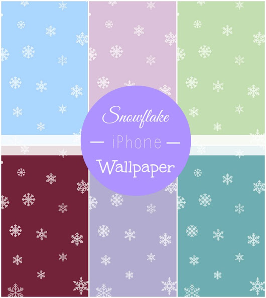 Snowflake iPhone Wallpapers - Free