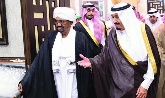 الملك سلمان يتدخل لرفع العقوبات الأمريكية بطلب من البشير