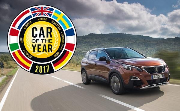 Peugeot 3008 Coche del Año en Europa 2017