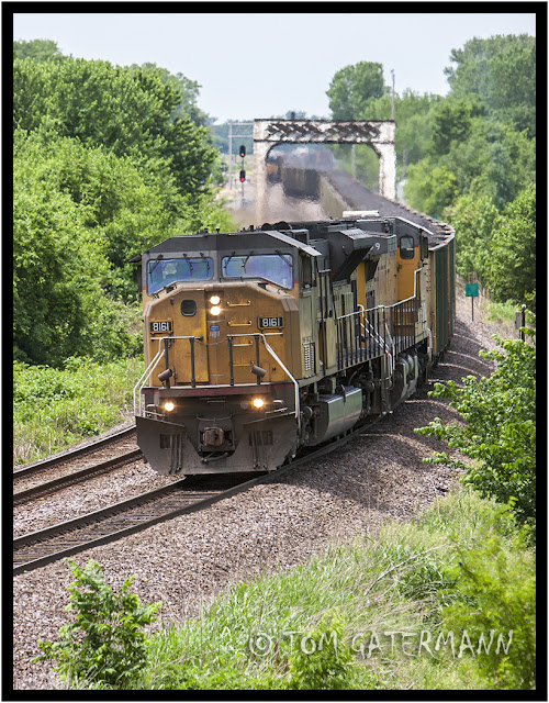 Union Pacific 8161 - Stranger Creek - Marysville Subdivision