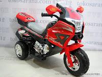 1 Motor Mainan Aki Pliko PK9088 Top Racer