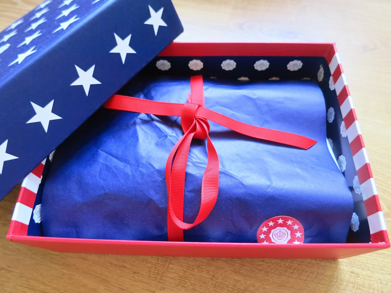 Glossybox Stars And Stripes July 2014
