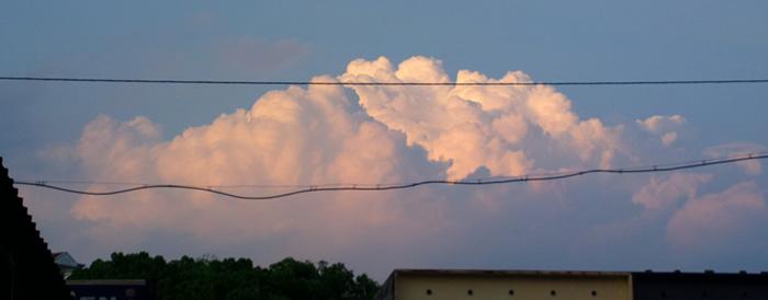 big anime cumulus cloud