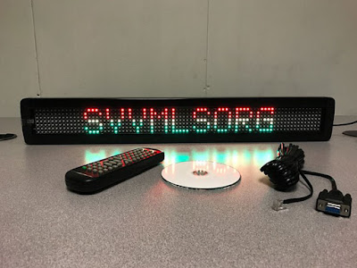 Shop the Tri-Color Single Line Semi-outdoor Programmable LED Sign at AffordableLED.com