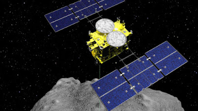 "Japanese Space Probe ""Hayabusa2"" Drops Explosive on Asteroid"
