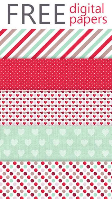 Carta decorata da stampare per progetti romantici fai da for Stampe di fattoria gratis