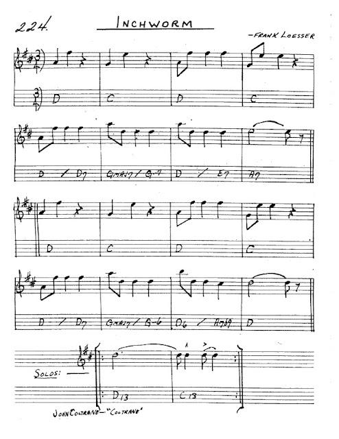 Partitura Saxofón Frank Loesser
