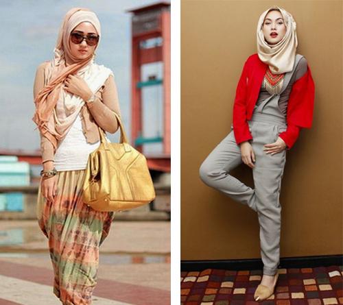 model baju hijab modern