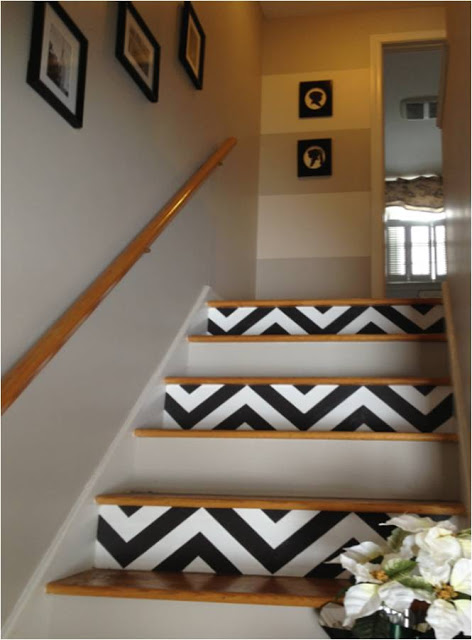 Sure Fit Slipcovers: Unique ways to decorate the stairs