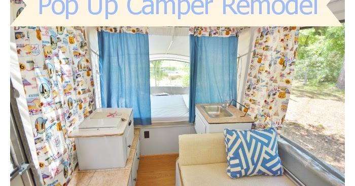 Life With 4 Boys Diy Pop Up Camper Remodel 70dayroadtrip