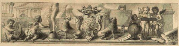 Bernard-Aymable Dupuy Le Triomphe des Arts