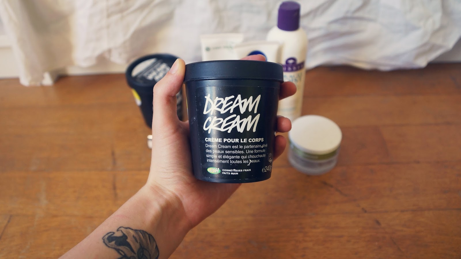 Lush Dream Cream Body Cream Review