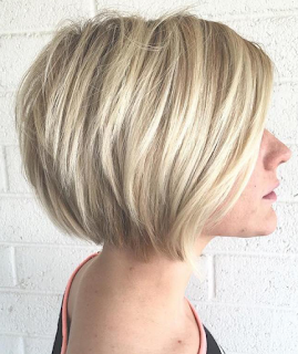Bob frisuren fur feines blondes haar