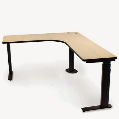 L Shaped Ergonomic Desk