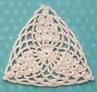 Patrón #1867: Como a tejer granny a crochet.