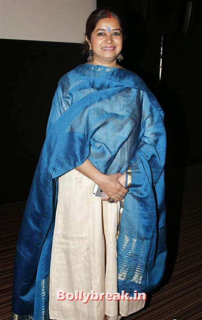 Rekha Bhardwaj, Madhuri & Huma at Dedh Ishqiya Press Meet