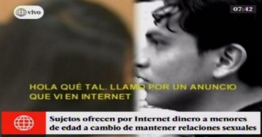ALERTA: Pedófilos ofrecían «ayuda económica» a escolares a través de Internet [VIDEO]