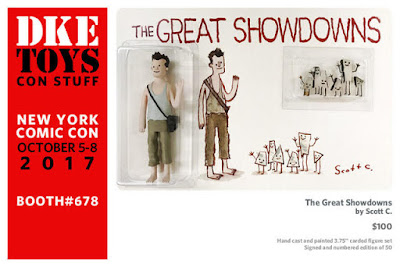 New York Comic Con 2017 Exclusive The Great Showdowns Die Hard Resin Figure Set by Scott C x DKE Toys