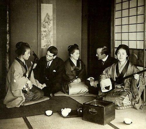 geishas et prostituées