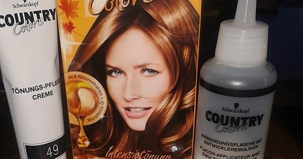 Haarfarbe cognac braun