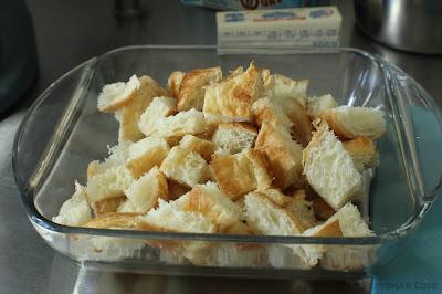 croissant pieces