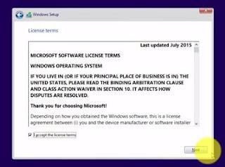 persyaratan pengguna windows 10