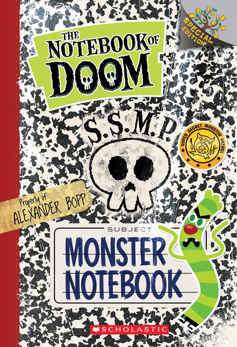 dad of divas reviews book review the notebook of doom monster book review the notebook of doom monster notebook